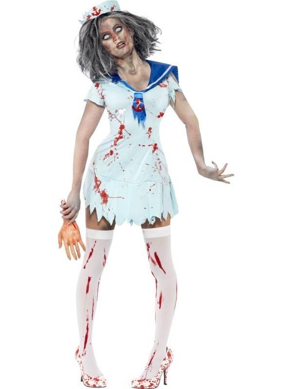 Zombie Sailor Matroos Halloween Verkleedkleding
