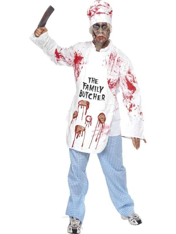Dodelijke Kok Halloween Verkleedkostuum