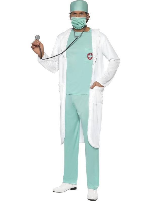 Dokter Kostuum Heren