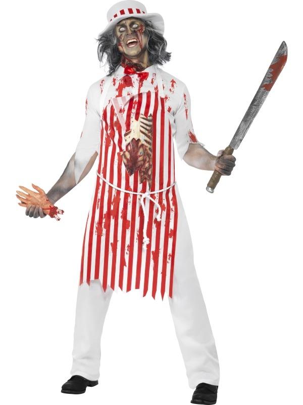 Bloederige Slager Halloween Horror Kostuums