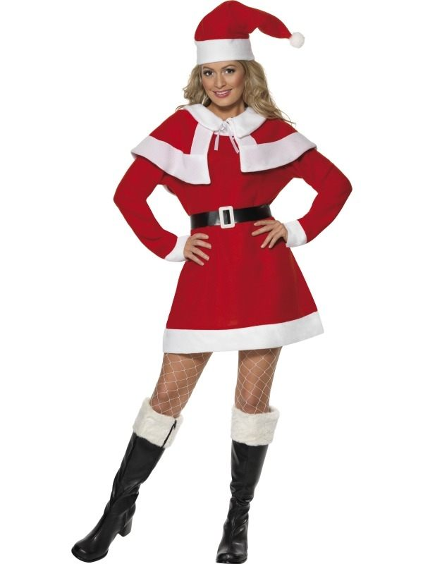 Miss Santa Fleece Kostuum