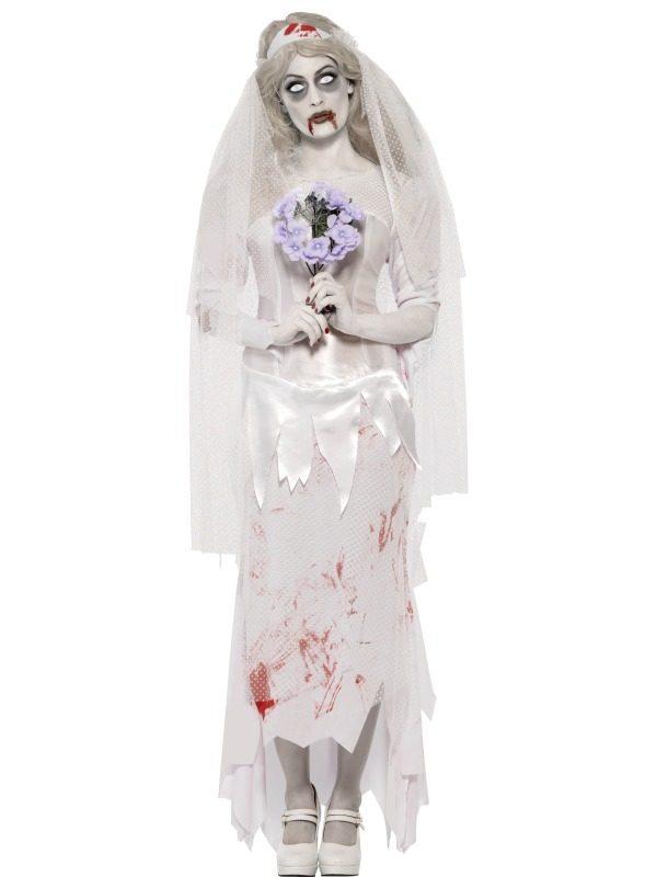 Zombie Bruid Halloween Horror Kostuum