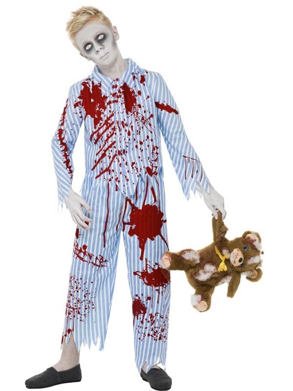Zombie Pyjama Boy Jongens Halloween Kostuum
