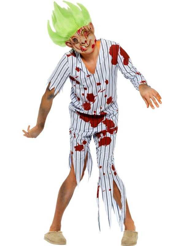 Zombie Trol Heren Halloween Kostuum