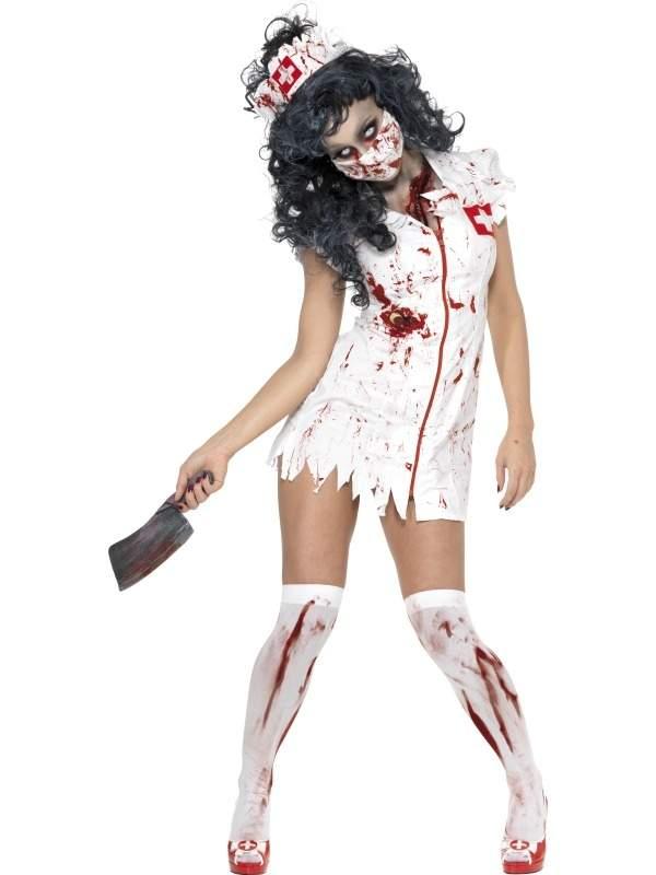 Zombie Zuster Horror Halloween Verkleedkleding