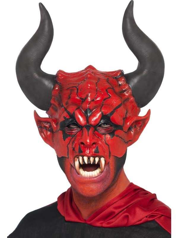 Duivel Devil Lord Gezichtsmasker Halloween