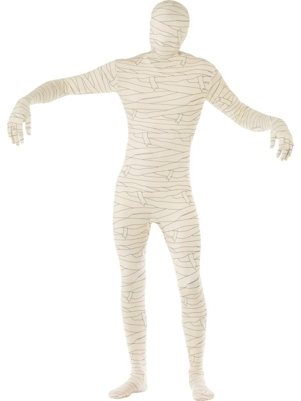 Mummy Second Skin Morph Suit Halloween