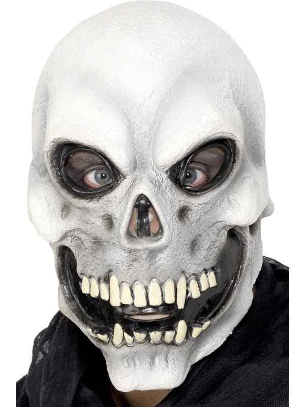 Schedel Skelettenkop Halloween Masker