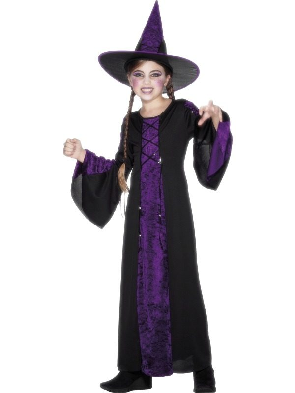 Bewitched Heksen Kinder Halloween Kostuum