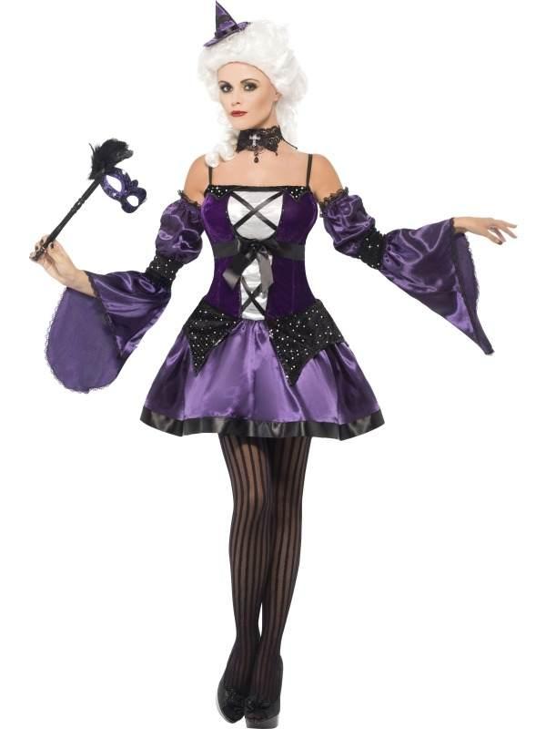 Witch Masquerade Heksen Verkleedkostuum