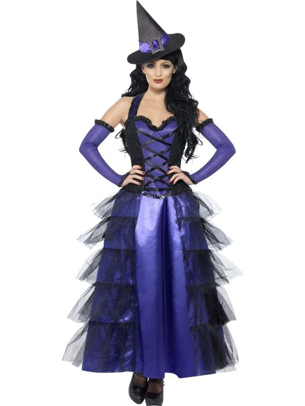 Glamorous Witch Heksen Kostuum