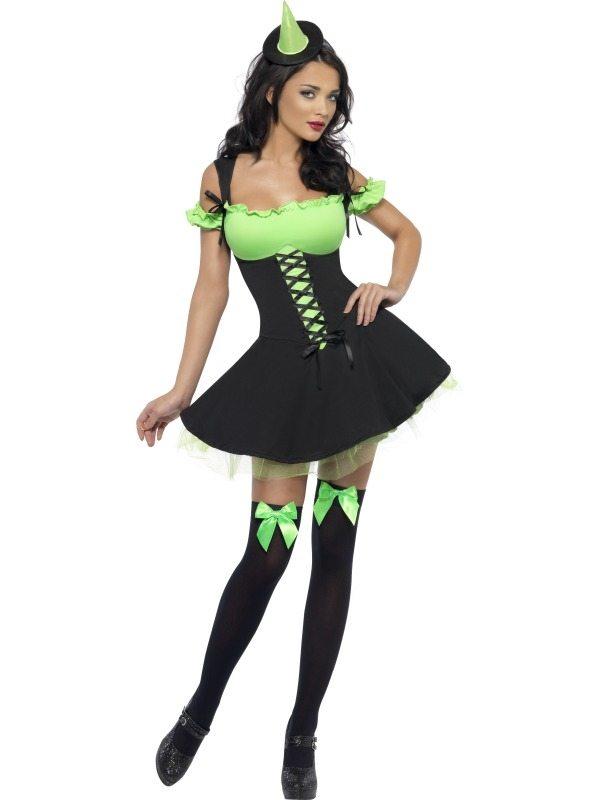 Fever Wicked  Witch Heksen Verkleedkostuum