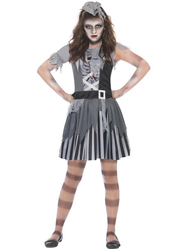 Ghost Piraten Tiener Verkleedkleding