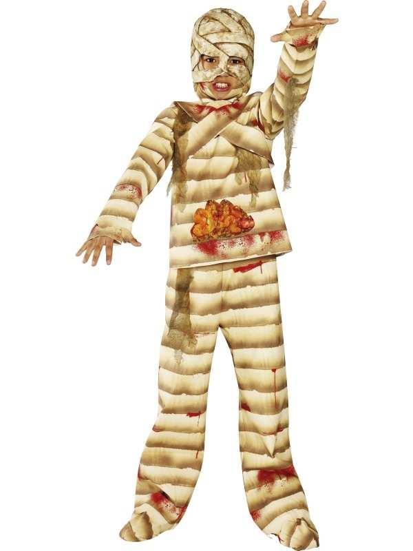 Halloween Mummy Jongens Kostuum