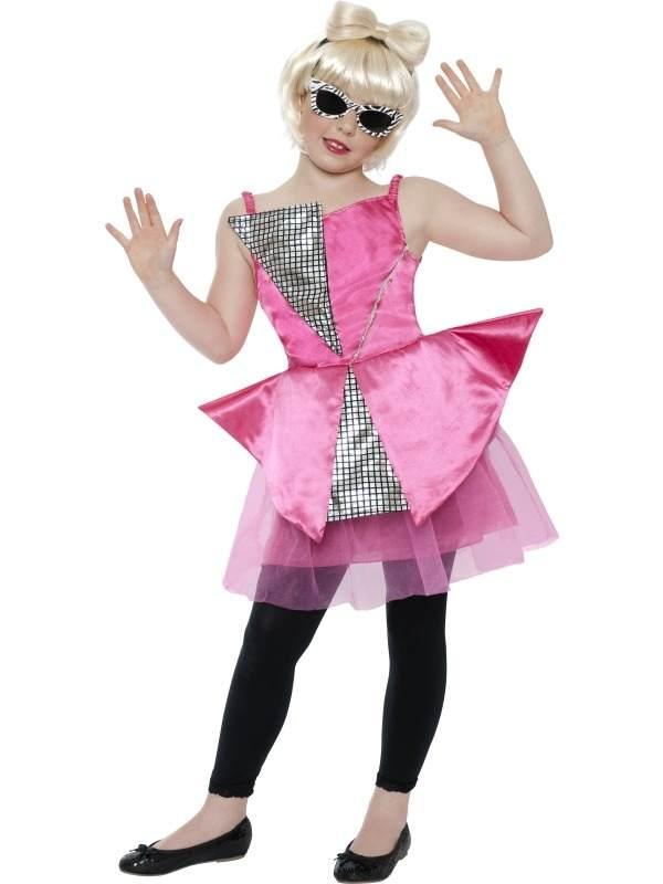 Mini Dance Diva Lady Gaga Style Verkleedkleding