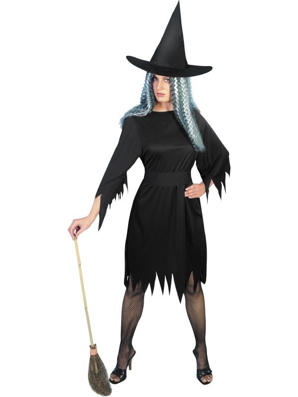 Spooky Witch Heksen Kostuum