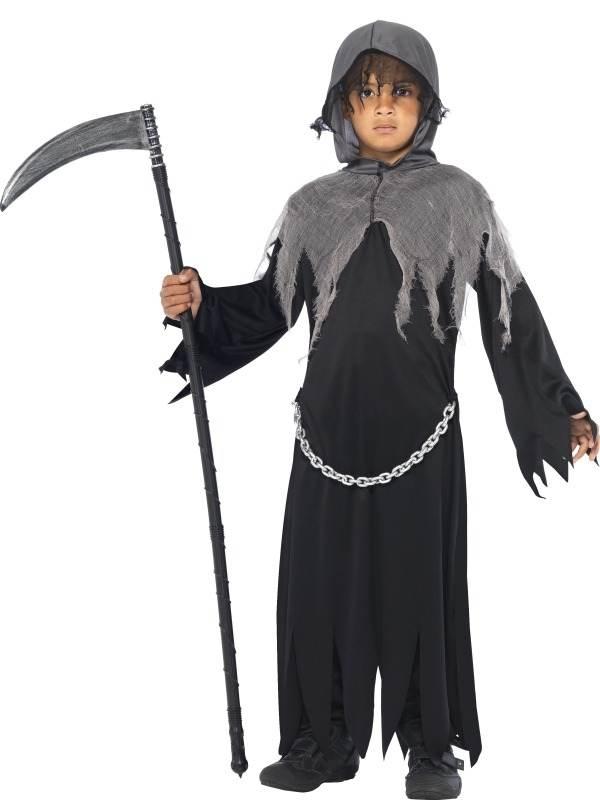 Magere Hein Halloween Kinder Kostuum