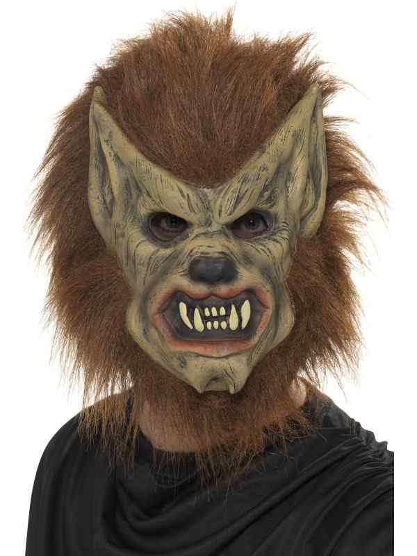 Eng Bruin Weerwolf Halloween Masker