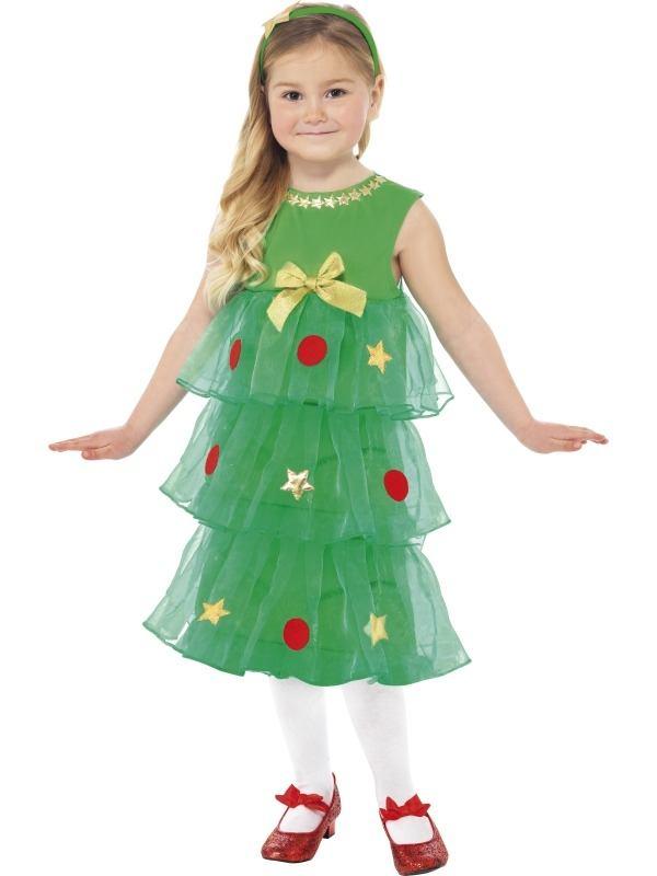 Kleine Kerstboom Meisjes Kostuum
