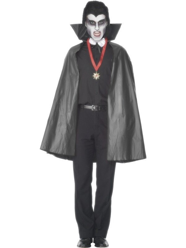 PVC Vampieren Heren Halloween Cape