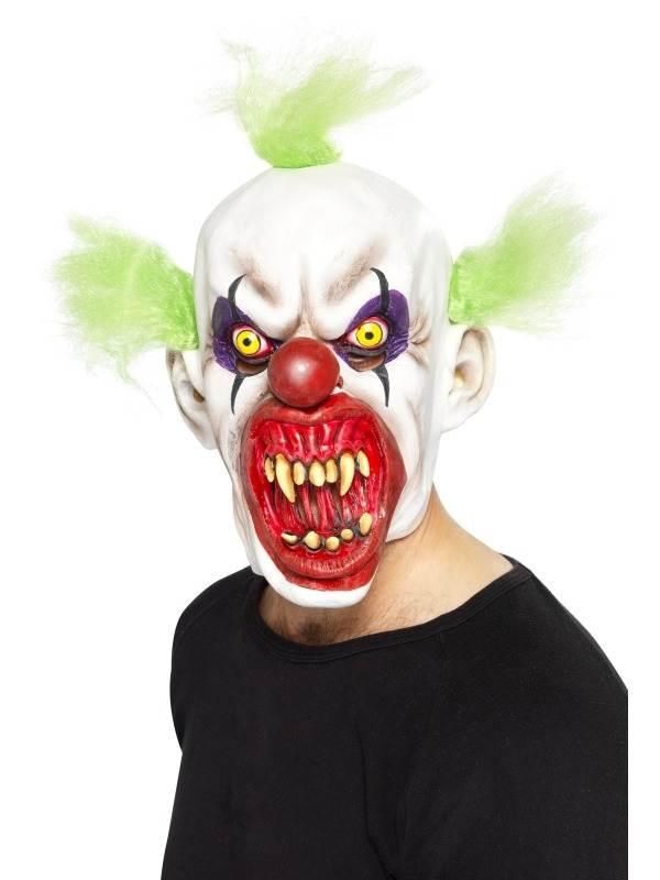 Sinister Clown Eng Masker met Haar