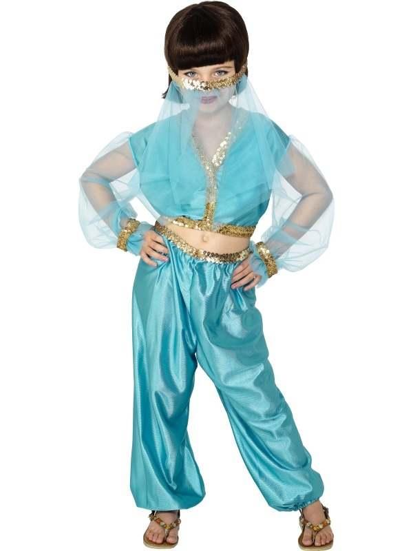 Arabian Princess Jasmine Meisjes Verkleedkleding