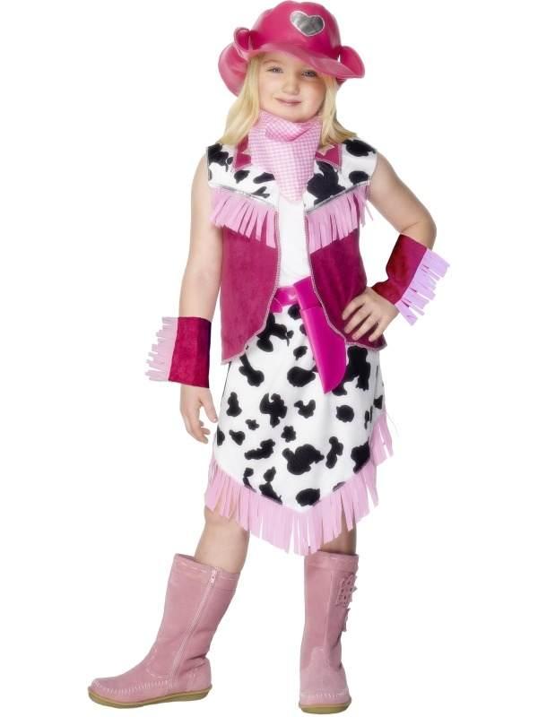Rodeo Cowgirl Meisjes Verkleedkleding