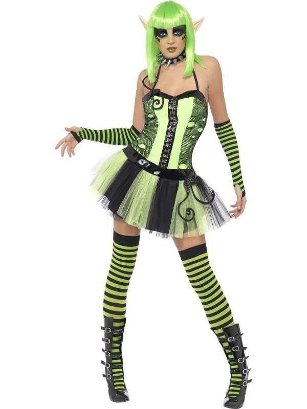 Tainted Garden Wild Ivy Elf Dames Kostuum