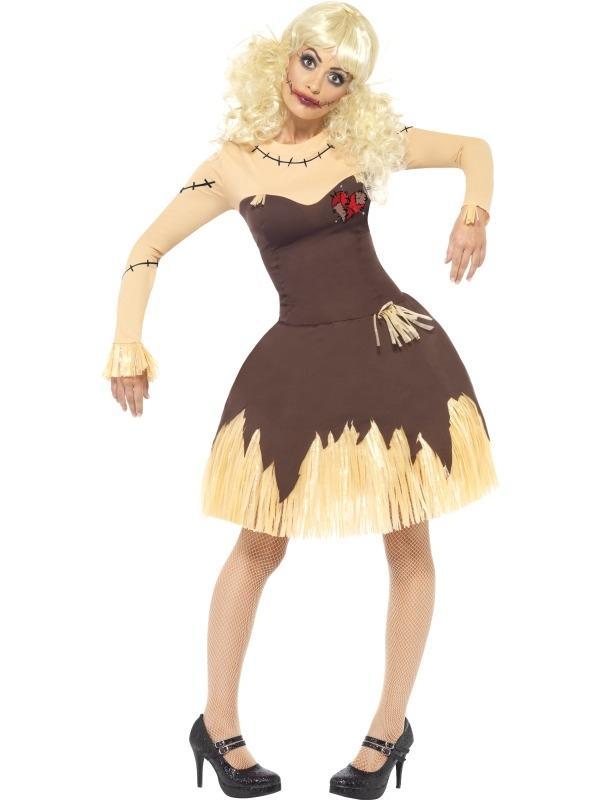 Voodoo Doll Dames Halloween Kostuum