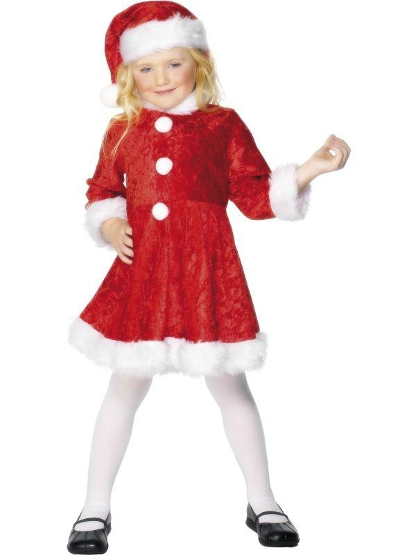 Mini Miss Santa Kerstvrouw Kostuum