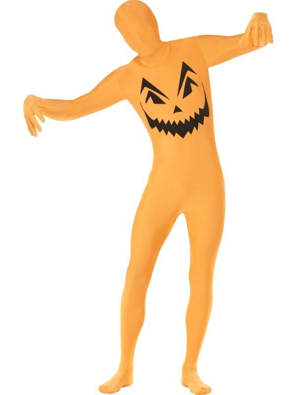 Pompoen Halloween Second Skin Morph Suit