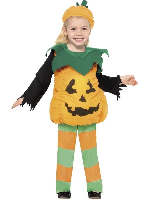 Kleine Pompoen Meisjes Halloween Kostuum
