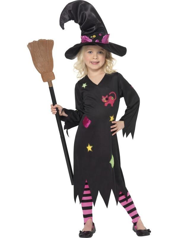 Heksen Kinder Kostuum incl Legging