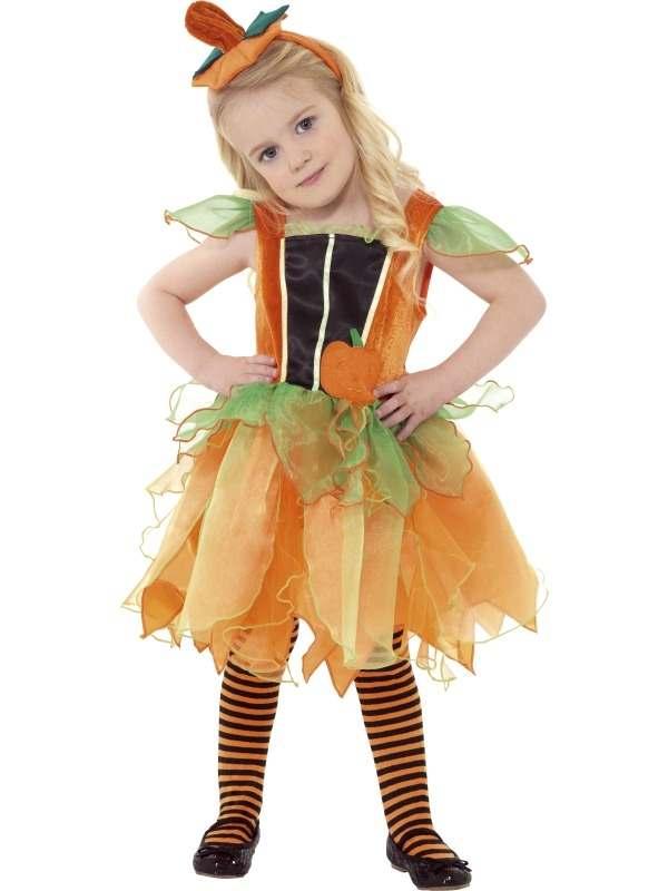 Pompoen Fairy Peuter Halloween Kostuum