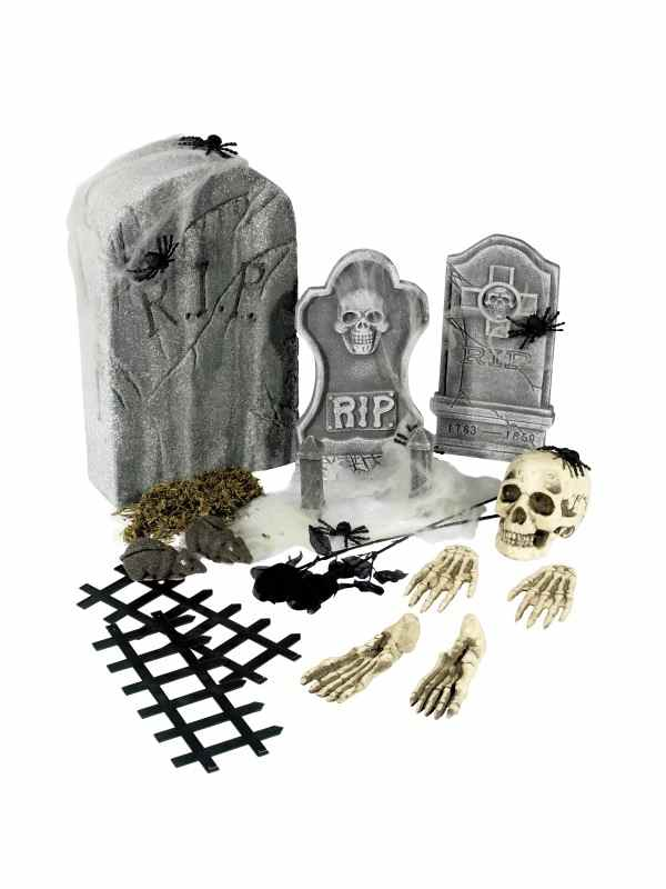 Begraafplaats Halloween Versiering 24 Stuks