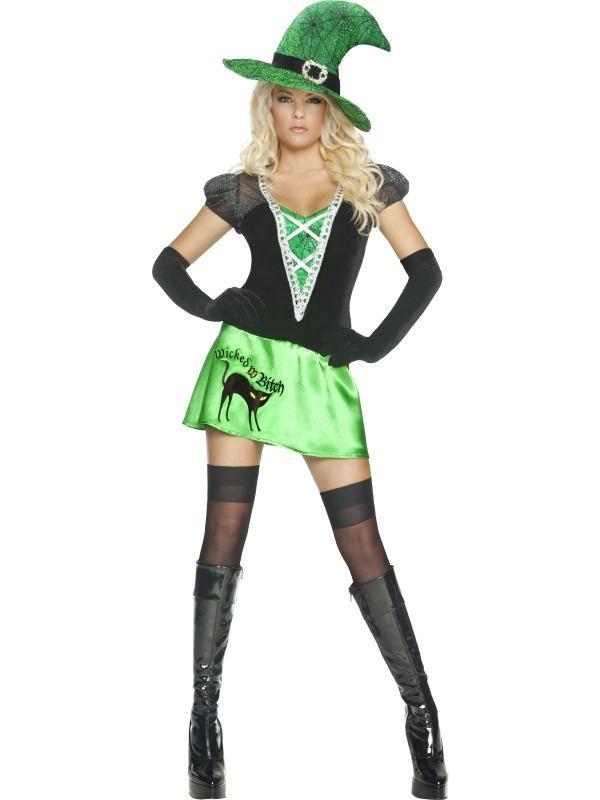 Wicked Bitch Heksen Halloween Kostuum