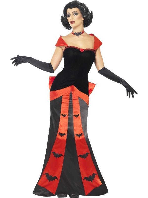 Glam Vampiress Vampieren Dames Kostuum