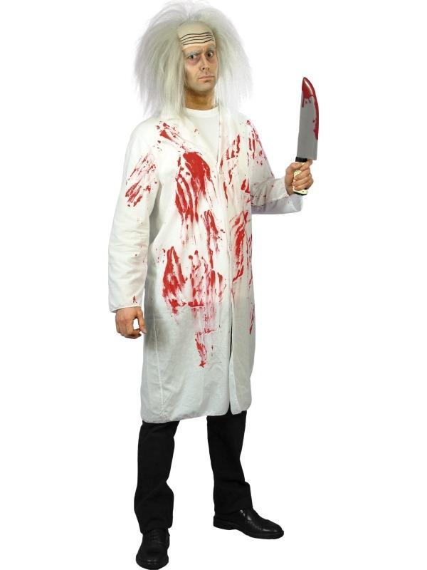 Halloween Dokter's Jas Met Bloed