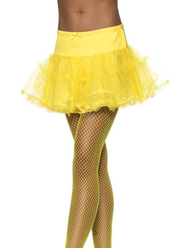 Neon Gele Petticoat Onderrok