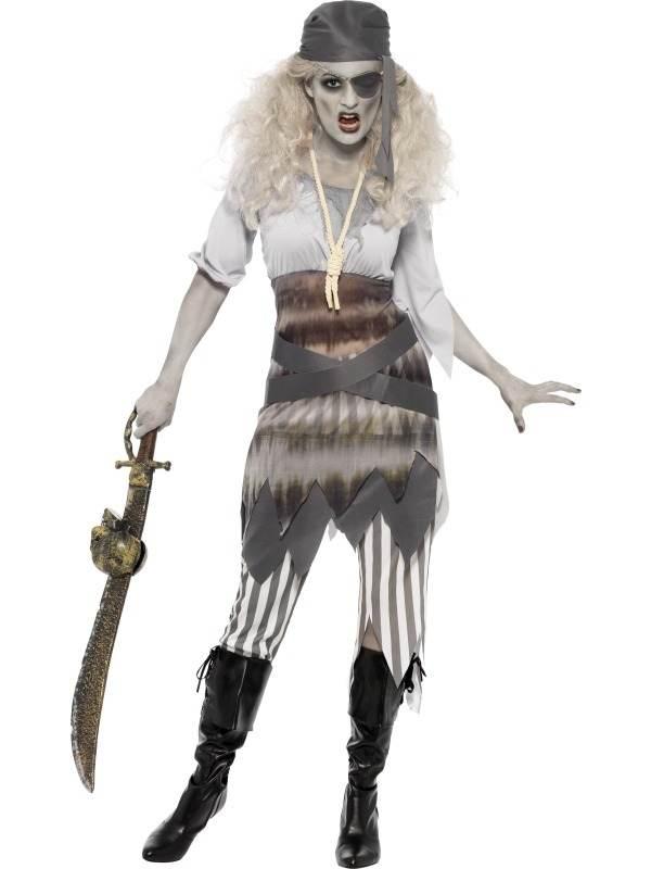 Ghost Horror Ship Shipwrecked Sweetie Kostuum