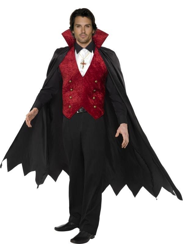 Heren Vampieren Halloween Kostuum