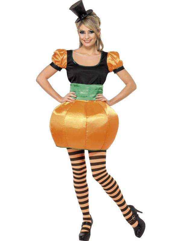 Pompoen Dames Halloween Kostuum