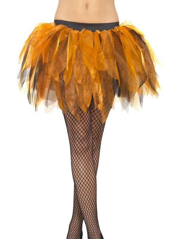 Oranje - Zwarte Pompoen Tutu