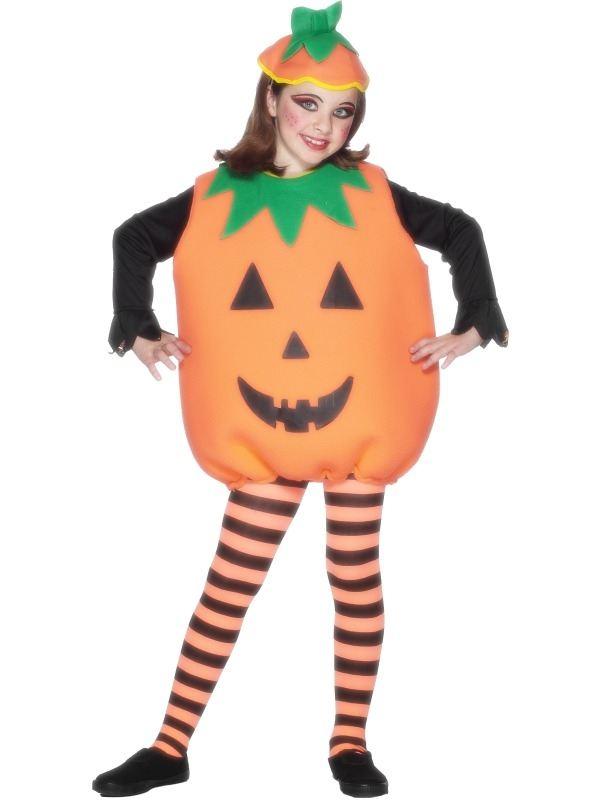 Kinder Pompoen Halloween Kostuum