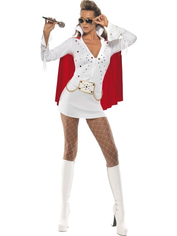 Elvis Viva Las Vegas Dames Kostuum