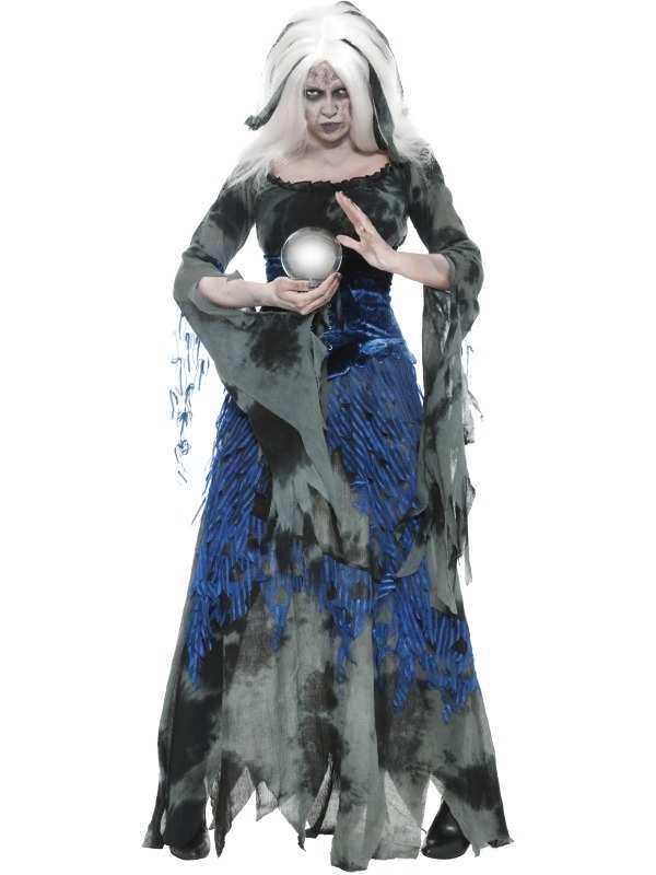 Griezelige Waarzegster Horror Halloween Kostuum