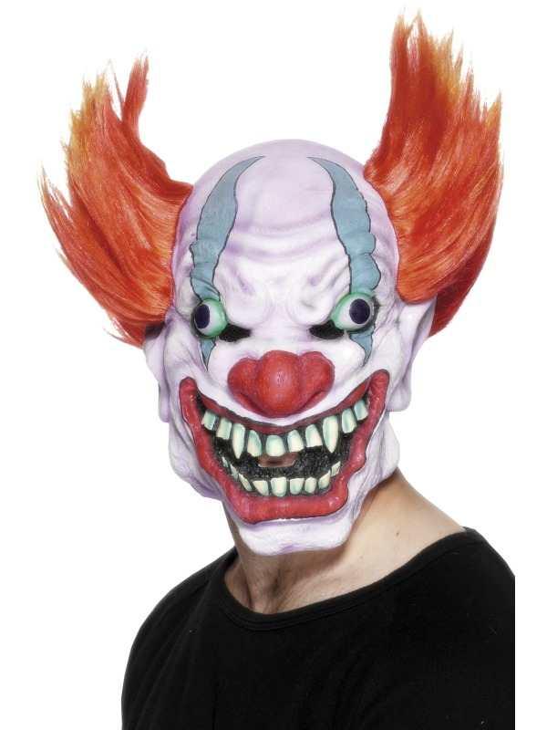 Clown Masker Horror Masker Met Haar