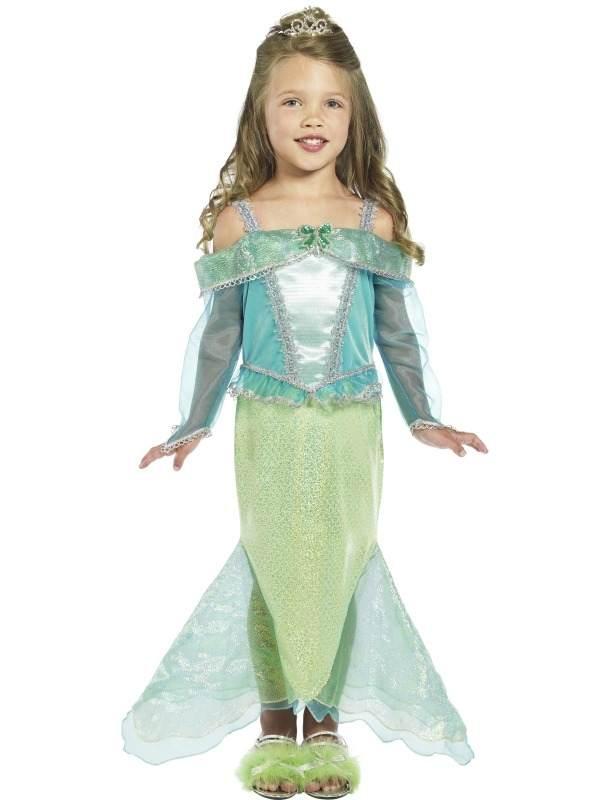 Zeemeermin Prinses Meisjes Kostuum