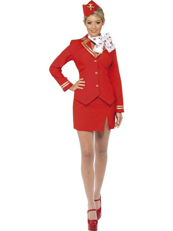 Britney Spears Trolley Dolly Stewardess Kostuum