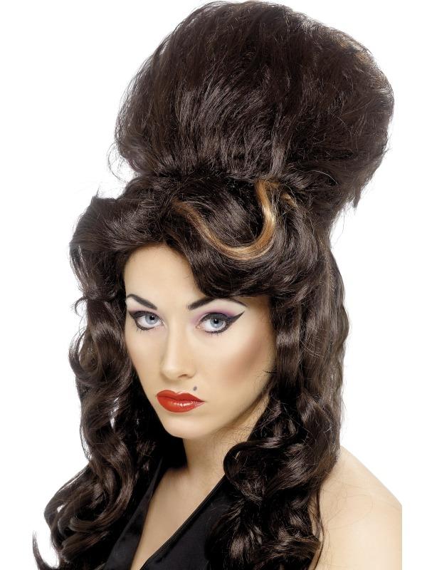 Rehab Bruine Amy Winehouse Pruik